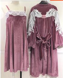 b1b83fd711 Sexy Flannel Pajamas NZ - 2018 Autumn Winter Women s Velvet Pajamas Two  Piece Pajama Set Sleepwear