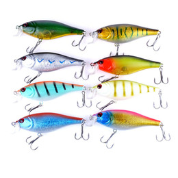catfish lures Canada - INFOF 80pcs CrankBaits Diving Fishing Lures Wobblers Plastic isca Artificial Hard Baits Catfish Carp Trout Perch Fishing baits