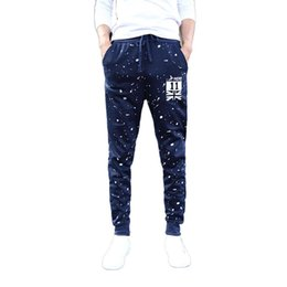 $enCountryForm.capitalKeyWord UK - Pants Men Harem Pants Mens Dot Printing Casual Pockets Joggers Sweatpants Male Cotton UK Flag Trousers Hip Hop Sweatpant Trouser