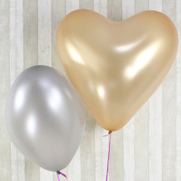 Wholesale Heart Shaped Balloon NZ - Good Quality 23inch 10g Colorful Giant Big Latex Heart Shape Balloon Birthday Wedding Party Decoration Birthday Big Size Latex Balloons
