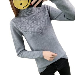 9aa2506404 Women S Thick Turtleneck Sweaters Canada - Women Sweater 2018 Winter Thick  Warm Women Pullovers and
