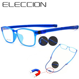dc0fd469a4d6 ELECCION Newly Upgraded Young Sports Glasses Frame Ultralight Comfortable Basketball  Glasses Frame Myopia Spectacle frames Men