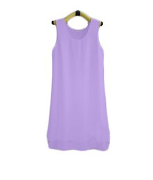 $enCountryForm.capitalKeyWord UK - new brand Fashion Summer Women long Solid Color Clothes Chiffon Tops Sleeveless blouse nice and cool T shirt no.404