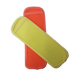 $enCountryForm.capitalKeyWord Australia - Stocked Popsicle Holders Pop Ice Sleeves Freezer Summer Icy Block Lolly Cream Holder For Kids 18x6cm Size 10 Color 10 Pcs