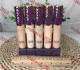 Wholesale Shape Tape contour Concealer concealer 5 colors Fair Light Light-medium Medium Light sand 10ml liquid foundation real photo 1 pcs ePacket
