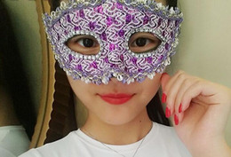 Women Face Mask Sex NZ - a105 Masquerade mask female half face sex party mask