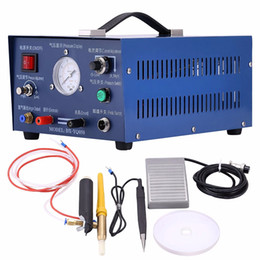 Chinese  Pulse Argon Spot Welder Jewelry Welding Machine 400W spot welder Gold Silver Platinum Palladium Silver Platinum Palladium manufacturers