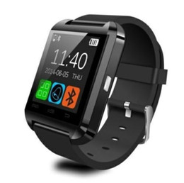 S8 Smart watch phone online shopping - Bluetooth U8 Smartwatch Wrist Watches Touch Screen For i7 S8 Android Phone Sleeping Monitor Smart Watch With Retail Package Dropship to USA