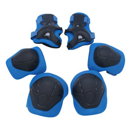 youth pads 2019 - Child Protective Kids Youth Knee Pad Elbow Pads Guards Protective Gear Set Wrist Guards Toddler for Roller Skates Cyclin