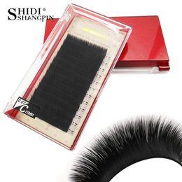 db337444bd8 C D Curl 0.07mm 12Rows Case Volume Individual Eyelash Extension Mink False  Fake Lashes False Eyelashes Natural Mink Eyelashes