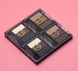 NOVO 3 cores Sobrancelha Potência à prova d 'água sweatproof natural long-lasting fácil towear chocolate marrom frete grátis