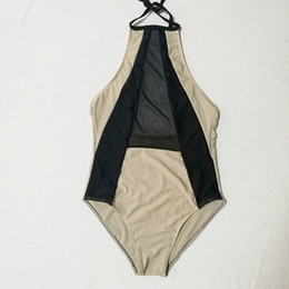 $enCountryForm.capitalKeyWord NZ - Women's Fashion Swim Wear 2018 Sexy Halter Bikini Swimwear for Women Sexy Bathing Suit Hot Sale Summer Beachwear Lady One Piece Swimsuit