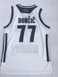 bb8e51d98 Mens Doncic Jersey Cheap Throwback Basketball Jersey Doncic slovenija Team Retro  Stitched Shirts BASKET Sports JERSEYS