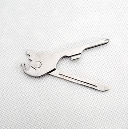 $enCountryForm.capitalKeyWord Australia - hg SWISS+TECH 6 in 1 Utili-key Mini Multi Function Keyring Flat and Lock Glass Screwdriver Bottle Opener Pocket Knife EDC Tool 50PCS K2712