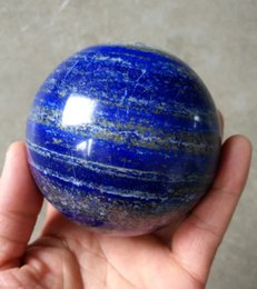 lapis ball 2019 - 50mm Natural crystal mineral lapis lazuli crystal ball stone cheap lapis ball
