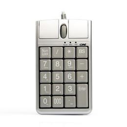 Опт Оригинальная 2 в iOne Scorpius N4 USB-клавиатура с оптической мышью, проводная 19 цифровая клавиатура с мышью и колесом прокрутки для быстрого ввода данных
