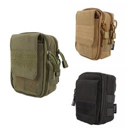 molle utility pouch bag 2019 - Sundries Bags NEW Tactical Hunting Small Utility Pouch Pack Army Molle Cover Scheme Field Outdoor Sports Mess Briefcase