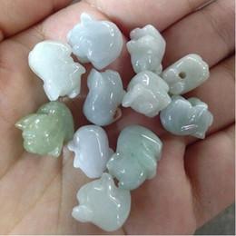 $enCountryForm.capitalKeyWord Australia - Fine Jewelry Natural jade bracelet and pig rich bead jade pendant factory direct