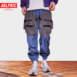 $enCountryForm.capitalKeyWord NZ - Aelfric Eden Multi-pockets Harem Joggers Men 2018 Autumn Fashion Sportswear Casual Pants Track Trousers Harajuku Streetwear DF07