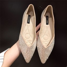 Soft Soled Shoes Australia - 20190514 Small suede shoes with pointed soft soles and flat soles