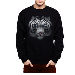 $enCountryForm.capitalKeyWord UK - White Tiger Animals Blue Eyes Men Sweatshirt S-3XL New Funny free shipping Unisex Casual tshirt