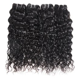 16 inch 1b hair Australia - YAHLIGS 3 Bundles 8-28 inch Brazilian Virgin Hair Human Hair Loose Wave Yaki Straight Deep Curly Body Wave Straight Color 1B Black J01