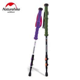 $enCountryForm.capitalKeyWord Australia - NEW Naturehike Carbon Fiber Hiking Cane Walking Stick Alpenstock For Ultra-light Adjustable 1PCS 3 Section 2 Color