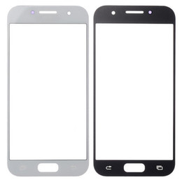 Discount samsung galaxy a5 touch screen - 100pcs for Samsung Galaxy A3 A5 A7 2017 outer glass lens Touch panel cover replacement for Samsung A320 a520 a720