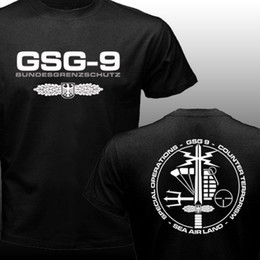 Wholesale New GSG Germany swat Counter Terrorism Special Operations Unit Police Tshirt Men