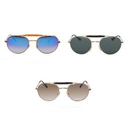 544ccc496b ... caliente gafas de sol de aviador RAY Vintage Pilot marca gafas de sol  polarizadas UV400 Prohibiciones Hombres Mujeres Espejo 58mm 62mm Lentes de  vidrio