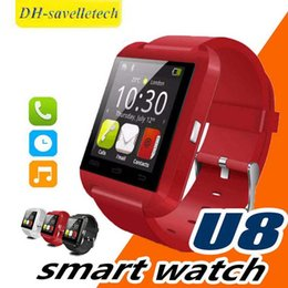 $enCountryForm.capitalKeyWord Australia - U8 Bluetooth Smart Watch Touch Wrist WristWatch Smartwatch for iPhone 4 4S 5 5S Samsung S4 S5 Note 3 HTC Android Phone Smartphones