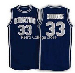 $enCountryForm.capitalKeyWord Australia - 1994 Basketball Georgetown #33 Alonzo Mourning customize Any number High quality Basketball jersey XS-6XL vest Jerseys NCAA