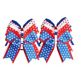 Swallow acceSSorieS online shopping - 6 colors kids baby Girls inch polka dots hair bows Swallow tail hairpin duckbill clips jojo siwa Barrettes hair accessories party supplies