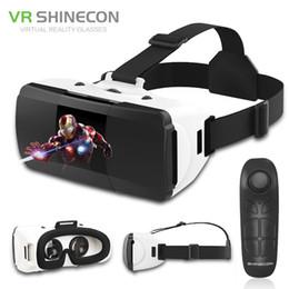 $enCountryForm.capitalKeyWord NZ - Original Vr Shinecon Pro Virtual Reality 3d Googles Glasses Vr Google Cardboard Headset Box Glasses Virtual For 4-6.0 Inch Phone T190628