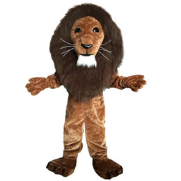 Wholesale mascots lions online – ideas Lion Mascot Costumes Cartoon Character Adult Sz Real Picture66