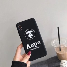 $enCountryForm.capitalKeyWord Australia - One Piece Luxury Silicone phone case fashion For iPhone 6S 7 8 P X XS well-known logo Designer phone back cover For gift