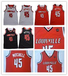 $enCountryForm.capitalKeyWord Australia - Mens NCAA Louisville Cardinals #45 Mitchell Black Red White Jersey ACC College Basketball Donavan Stitched Jerseys