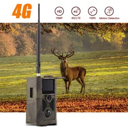 Gsm Gprs Gps Australia - 4G Hunting camera GPS FTP 16MP Trail Camera Email with 4G Personal Surveillance Cam support MMS GPRS GSM Photo traps 4G Night vision