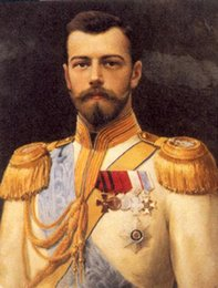 $enCountryForm.capitalKeyWord Australia - Handpainted & HD Print Portrait Art oil paintingmale portrait tsar Nicholas II High Quality Home Decor On Canvas Multi Sizes p140