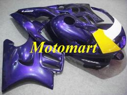 $enCountryForm.capitalKeyWord Australia - Motorcycle Fairing kit for HONDA CBR600F3 95 96 CBR 600 F3 1995 1996 ABS Purple yellow white Fairings set+gifts HG06
