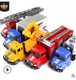 $enCountryForm.capitalKeyWord Australia - Children's toy car alloy car model construction trucks model police fire alarm engineering environmental protection series alloy car model
