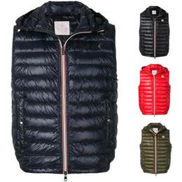Venta al por mayor de Nuevo francés anorak hombres chaleco de invierno gillets UK populares gilets chaqueta cuerpo cálido más tamaño hombre abajo parkas anorak con capucha abajo chaleco