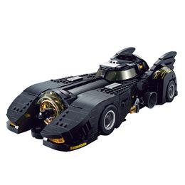 Vente en gros 1778 PCS bricolage blocs de construction Batmobile 1989 voiture de course avec la boîte d'origine