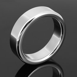 Wholesale Metal penis rings stainless steel cockrings mm Penis ring sex delay toys A024