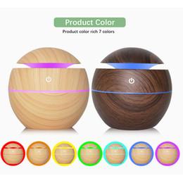 $enCountryForm.capitalKeyWord Australia - Brand New 130ml Ultrasonic Cool Mist Humidifier USB Aroma Essential Oil Diffuser Air Purifier 7 Color Change LED Night Light