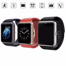 remote for mobile phone camera Australia - 2019 Android Camera Bluetooths Phone GT08 Smart Watch Bluetooth Smartwatch Smartwatch Wrist Mobile Smart Watch Phone GT08 Sport Smart Watch