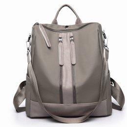 $enCountryForm.capitalKeyWord Australia - 2019 bag female Korean new shoulder bag Oxford cloth double zipper simple fashion backpack wholesale
