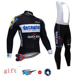 $enCountryForm.capitalKeyWord Australia - 2019 QUICKSTEP TEAM CYCLING JACKET 9D bike pants set Ropa Ciclismo MENS winter thermal fleece pro BICYCLING jersey Maillot wear