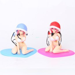 $enCountryForm.capitalKeyWord Australia - Supersonico Decorate sitting position Bathing Suit Anime Sexy Figures Cartoon Gift Plastic Action Collectible Model Toy 12CM OPP G18