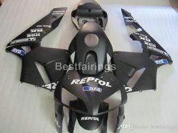 Injection Abs Fairings Australia - Injection ABS hot sale fairing kit for Honda CBR600RR 05 06 matte black fairings set CBR600RR 2005 2006 FF11